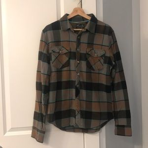 Fox Racing - Flannel Button Down - Men's Size Med